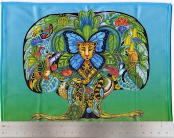 Tree of Life, Sue Coccia, Microfiber Cleaning Cloth Wipes for Eye Glasses, Cell Phones, Sunglasses, Electronics and More!