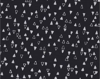 Modern Batiks, Studio E Fabrics, Triangles in Black
