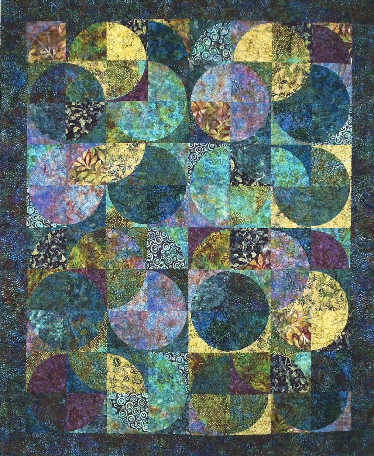 Eclipse Batik Quilt Kit Sandy Brawner For Quilt Country
