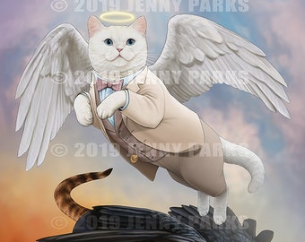 Good Omens Cats 11x17 Poster