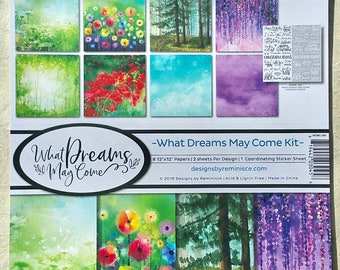 5 sheets 12X12 Scrapbook Papers by Reminisce Devoted Faith RISEN