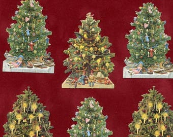 christmas die cuts christmas tree die cuts scrap reliefs victorian christmas victorian christmas die cuts paper christmas trees 7396