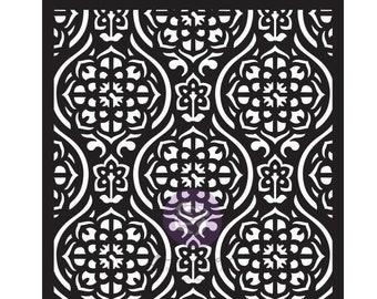 Tile Pattern STENCIL, Prima Victorian Tiles Stencil, 6 X 9 Stencil, Tiles Stencil, Prima Stencils, Finnabair Stencils, Victorian Pattern