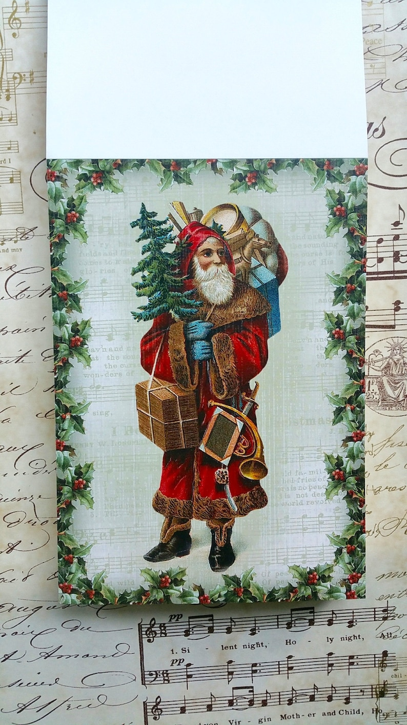 Christmas Post Cards Victorian Christmas Victorian Christmas PAPER PAD Hunkydory Victorian Christmas Christmas Matting Paper