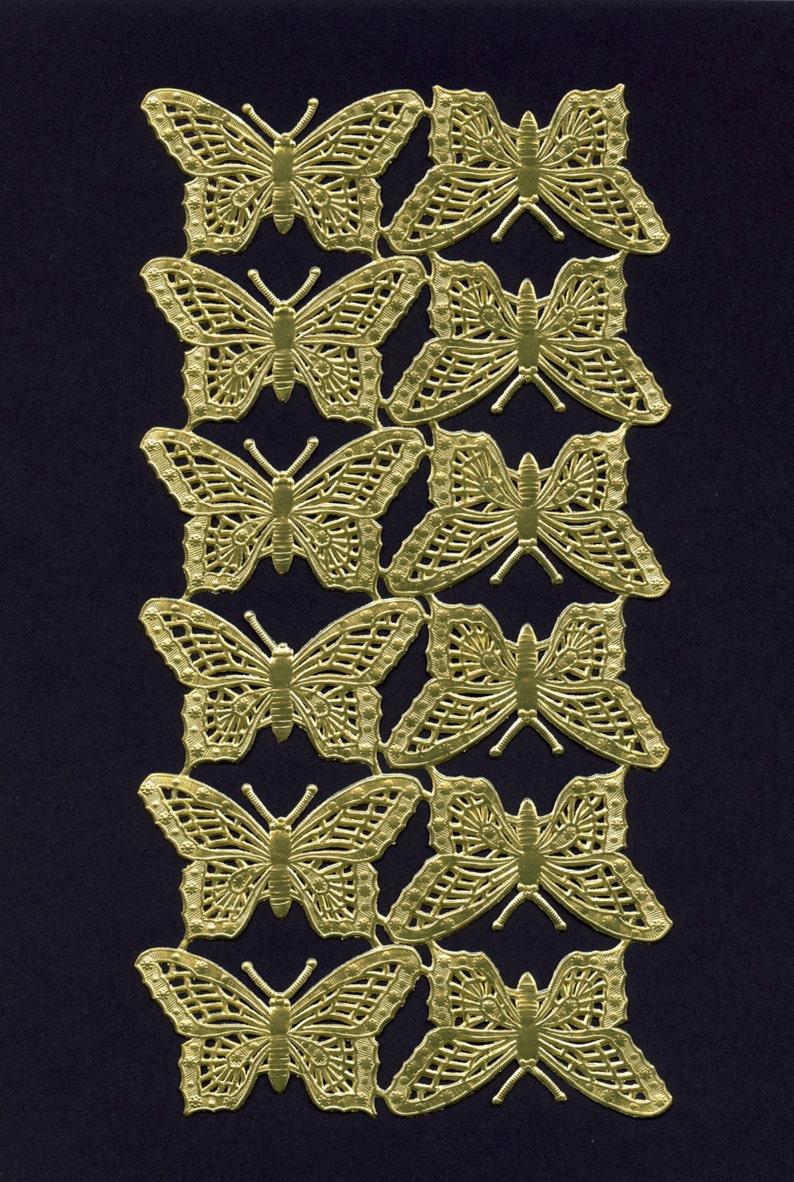 3b9c6858bc7 DRESDENS Butterflies Gold Butterflies Dresden Butterflies