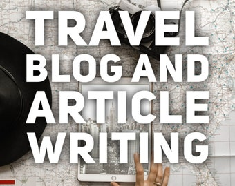 Travel Blog and Website Content Writer, SEO Content, Adventure Blogger, Hotel AirBnB Writing, Hiking, eCommerce Content Article Writing