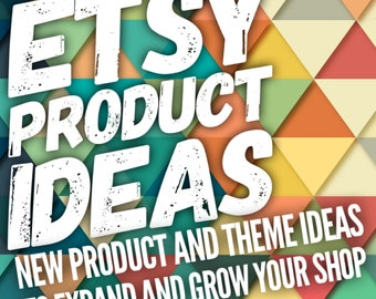 New Product Ideas, Theme Ideas, Etsy Shop Expansion, Grow Your Etsy Store, Business Growth, Etsy Success, Increase Views and Sales