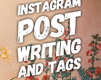 Instagram Post Writing and Hashtag Research, Instagram Growth, Social Media Content, Instagram Marketing, Grow Your Instagram, Facebook Post
