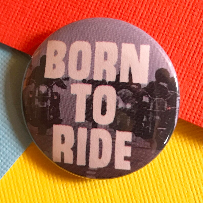 Motorcycle Pinback Button, Harley Davidson Pin, Sturgis Magnet, Biker Gang  Button, Motorcycle Keychain, Americana, Backpack Pin, Punk Pin