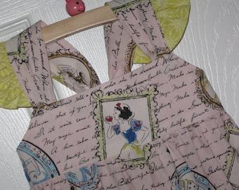 43eda4f7a1b Disney Princess Dress-Snow White Cinderella Belle on light Pink-Made to  Order up to size 8-Disney World Disneyland