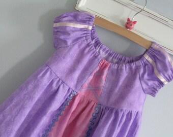 Peasant Dress-Rapunzel inspired-Princess Series-MADE TO ORDER-Disney World-Everyday or Costume-Tangled-Disneyland