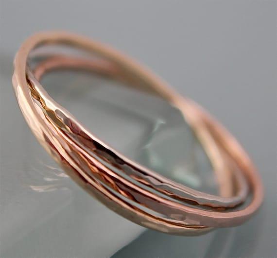 ElenadE Solid Gold INFINITY 9K Handmade Ring
