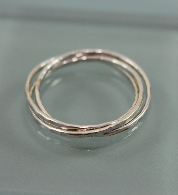 Russian Wedding Ring Rolling Ring Sterling Silver 3 Wedding Etsy