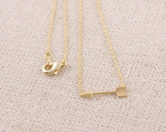 Narrow Necklace Gold