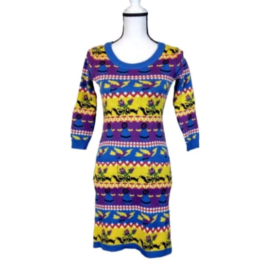 Punk Label Betsey Johnson Sweater Dress Reissue