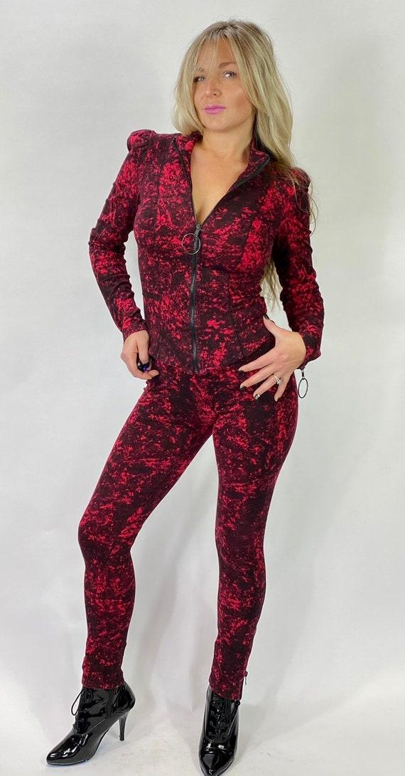 Betsey Johnson Victorian style Goth jacket Vampir… - image 1