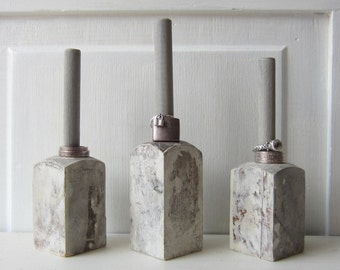 ONE Ring Holder Display Organizer - Gray Architectural Salvage - Quantities Available READY to SHIP