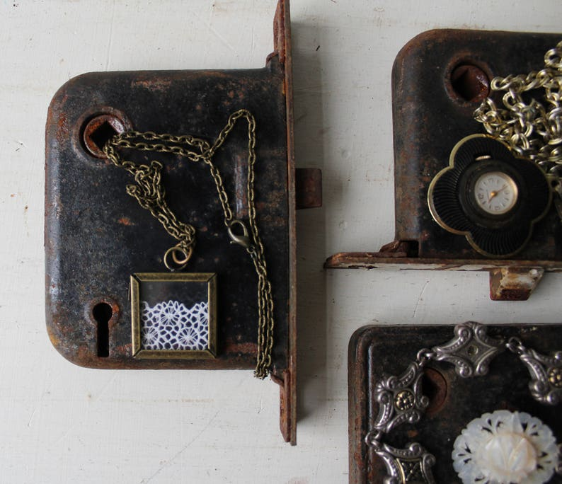 One Jewelry Display Antique Door Hardware Jewelry Prop Etsy