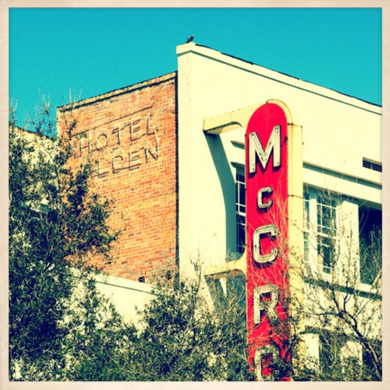 McCrory's Sign St. Petersburg Florida Photo Print  image 0