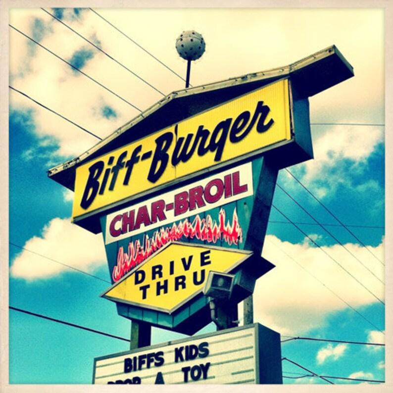 Biff-Burger Restaurant Sign St. Petersburg Florida Photo image 0