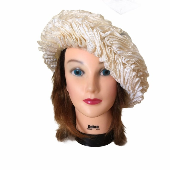 1960s Elsa Schiaparelli Paris High Fashion Woven C