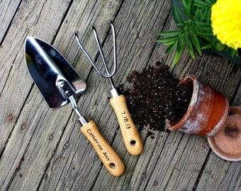 Gardening Gift Ideas For Mom Gardening gift ideas etsy personalized garden tool set hand trowel short shovel gardener gift gift for workwithnaturefo