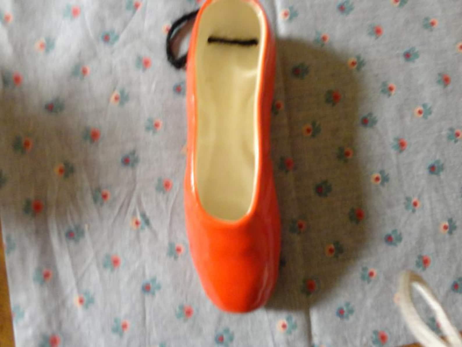 vintage ballet shoe