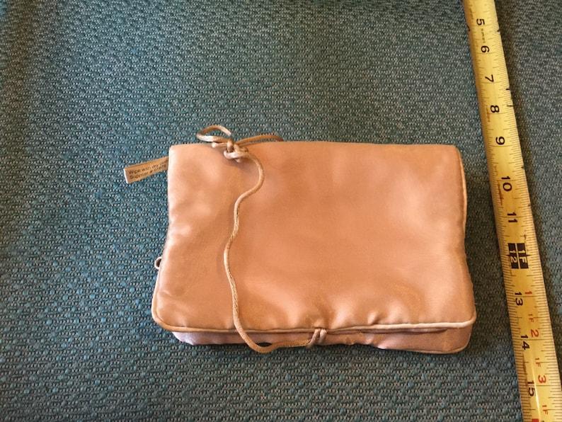 Vintage Travel Makeup   Jewelry Bag