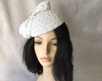 6ebe23e04b32c White pillbox hat