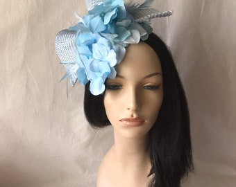 7168cc637e80f Powder Blue fascinator hat