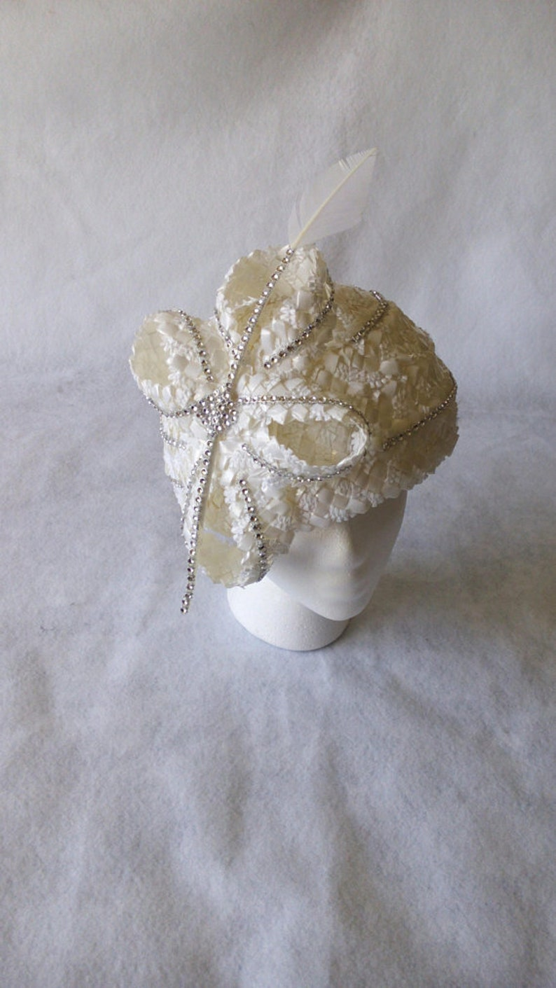 Mother\u2019s Day hat,tea party hat,Special Occasion Hat White Church Hat for women White Formal hat White Church hat Mother of the Bride hat