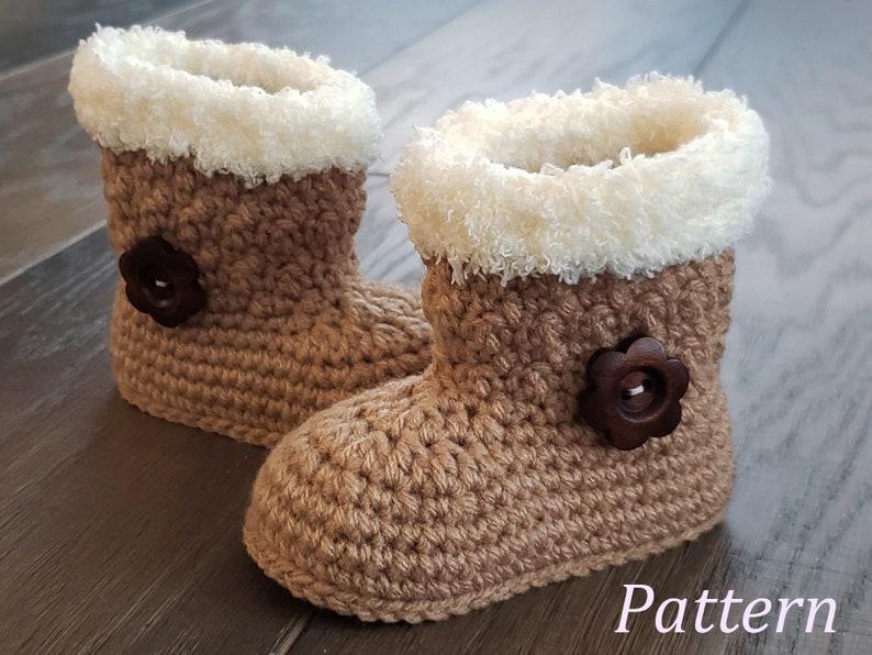 8d02be2a564dd Crochet PATTERN Baby Girl Boots Booties Baby Boot Pattern Baby Booties Baby  Girl Pattern Baby Bootie Pattern Crochet Pattern