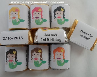 Mermaid Party Favor Decorations Birthday Decorations Party