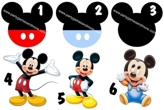 Einzigartige personalisierte Mickey-Mouse inspiriert | Etsy