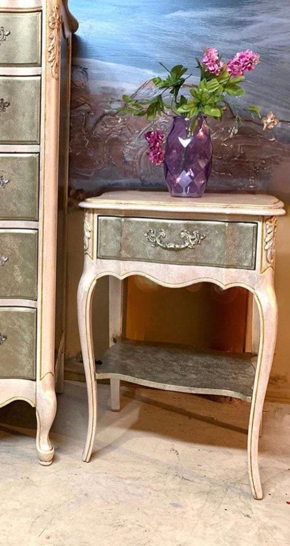 Boho Dresser Mirror Nightstand