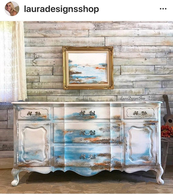 "Boho Furniture - ""Ocean Beeeze Dresser"" SOLD SOLD"