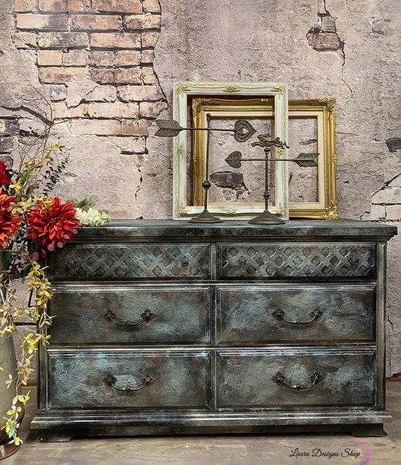 Rustic Industrial Dresser