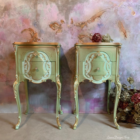 French Country Nightstands