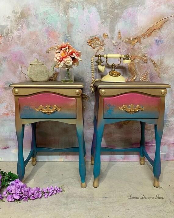 Boho nightstands