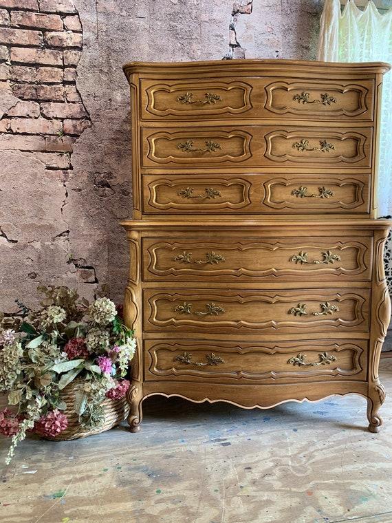 Tall Highboy French Provincial Dresser - Custom Design Me