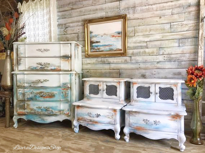 ... Provincial Beach Bedroom Set. 1