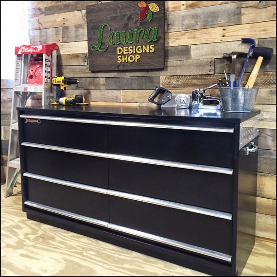Toolbox Dresser - GarageTheme Furniture - Garage Shop Dresser - Boys Furniture