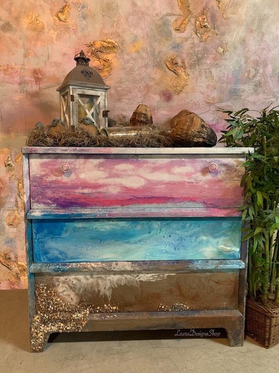 Beach Furniture/Boho Dresser
