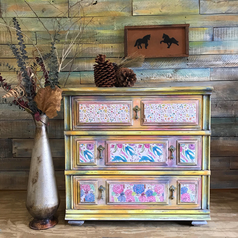 Bohemian Furniture Dresser
