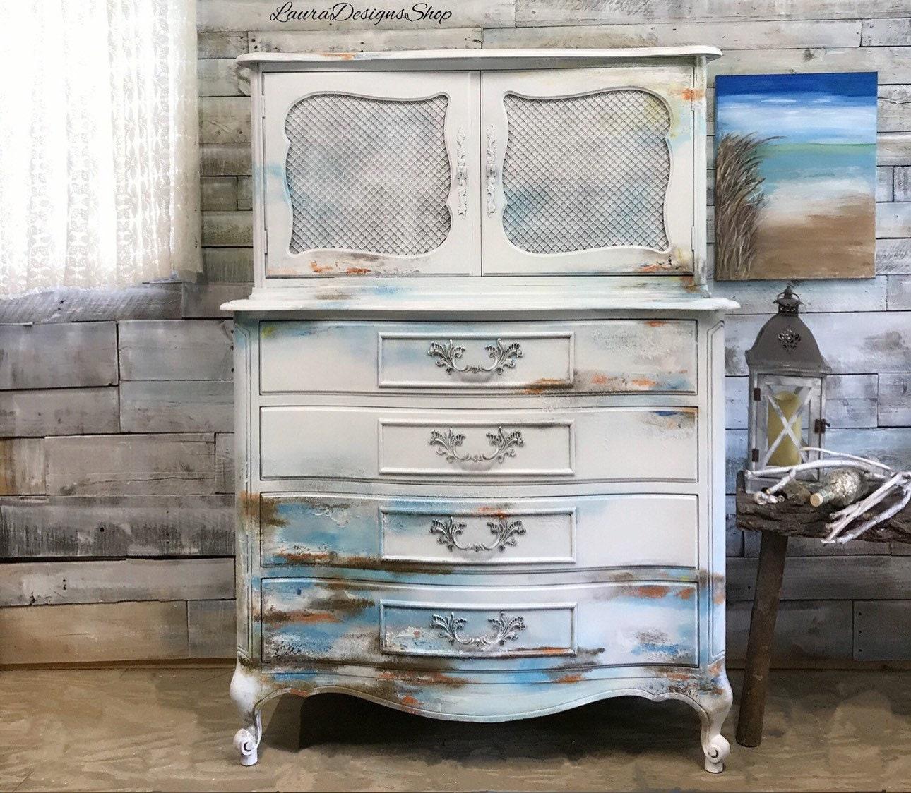 Boho Bedroom Set - Beachy Bohemian Style Furniture
