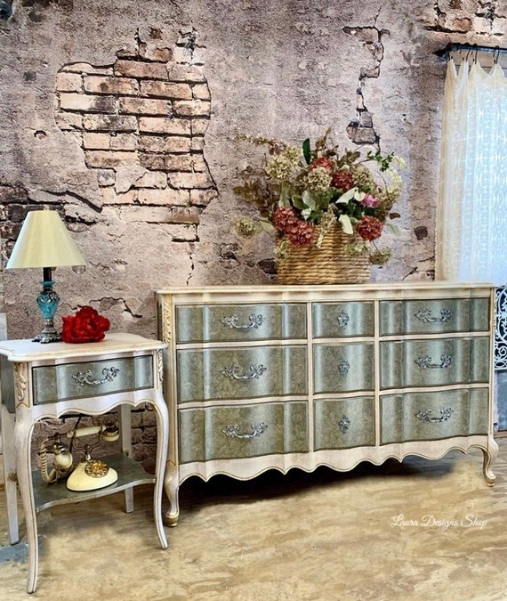Boho Furniture - Dresser - Mirror - Nightstand