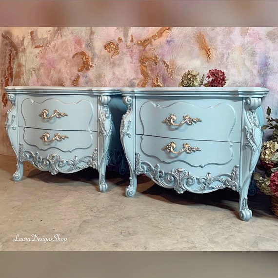 French Provincial Antique Nightstands