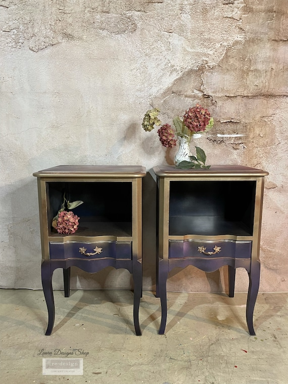 SOLD- Galaxy Side Tables