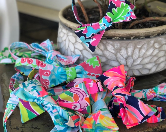 Adult Lilly Pulitzer Bow Tie