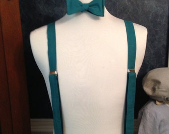 Everglade Adult bow tie and suspender set